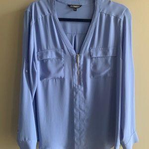 Express Portofino Convertible Sleeve Blouse